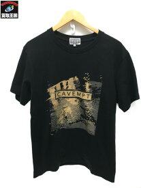 C.E S/S CAVEMPT プリントTシャツ (M) BLACK 黒【中古】