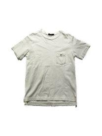 SCYE BASICS S/S TEE size:38 WHITE【中古】