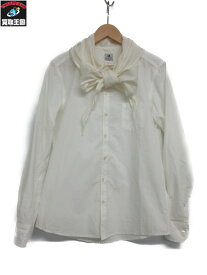 SASQUATCHfabrix. スカーフシャツ (M)【中古】[▼]
