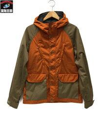 THE NORTH FACE PURPLE LABEL 65/35 マウンテンパーカー color:オレンジ【中古】