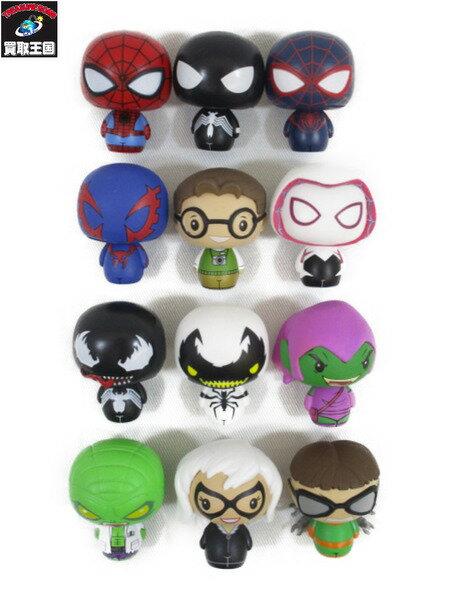 ホットトイズ スパイダーマンシリーズ1 ピントサイズ・ヒーローズ 12種セット【中古】