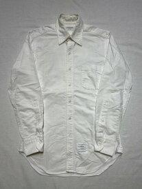 THOM BROWNE/ボタンダウンオックスフォードシャツ/1/WHT【中古】