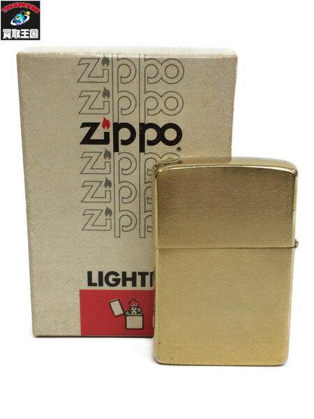 Zippo 1982年製 ブラス【中古】[▼]