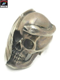 HYSTERIC GLAMOUR LE TABOU SKULL SWAN RING スカルスワンリング #11【中古】[▼]