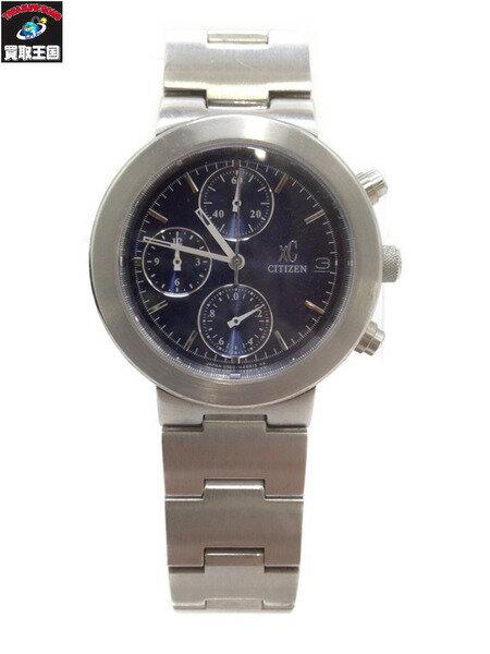 CITIZEN クロスシー クロノグラフ 0560-H25951 クォーツ腕時計【中古】