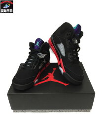 NIKE Air Jordan 5 Retro Top3 27.0cm CZ1786−001【中古】