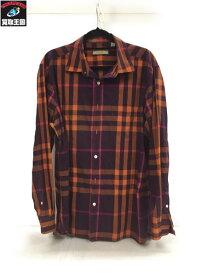 BURBERRY LONDON ENGLAND チェックシャツ sizeXL【中古】