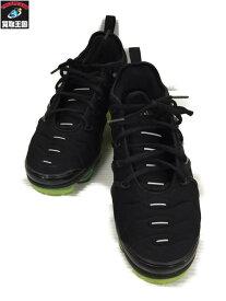 NIKE AIR VAPOR MAX PLUS Black Volt Sole size27.5【中古】
