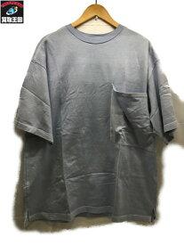 marka マーカ ビックポケットTシャツ 1 水色【中古】