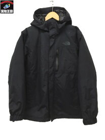 THE NORTH FACE/ZEUS TRICLIMATE JACKET/M/NP61833 ザ・ノース・フェイス ゼウストリクライメートジャケット 黒【中古】[▼]