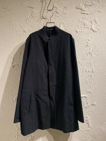 Yohji Yamamoto POUR HOMME/97AW/マオカラーコート/ブラック/M【中古】