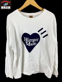 HUMAN MADE×Girls Don't Cry 2020 L S カットソー ホワイト M【中古】[▼]