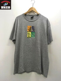 90s STUSSY USA製 哲学者ソクラテス&プラトン&アリストテレス Tシャツ (XL)【中古】[▼]