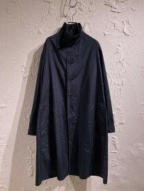 Yohji Yamamoto POUR HOMME/18AW/コットンスタンドカラーロングシャツ/2/ブラック【中古】