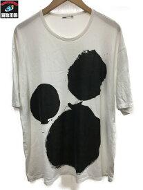 LAD MUSICIAN BIG T-SHIRT ラッドミュージシャン Tシャツ 白 44【中古】[▼]