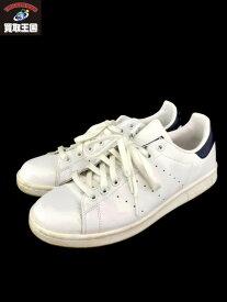 adidas originals STAN SMITH スタンスミス M20325 (27cm) ホワイト×ネイビー【中古】