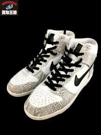NIKE DUNK HIGH SP COCOA SNAKE 28.0cm US10 2013年製 【中古】