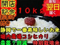 森町堀内農場特別栽培米コシヒカリ