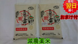 【30年産 】千葉県匝瑳市産 特別栽培米(減農薬5割減、化学肥料5割減)匝瑳の舞プレミアム☆白米10kg(5kg袋×2)送料無料※北海道は別途送料\500沖縄一部離島は\1500が掛かります