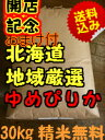 【28年産 新米】北海道 地域厳選 ゆめぴりか★玄米30kg(精米無料27kg)送料無料※北海道は別途送料\500沖縄一部離島は\1000が掛かります