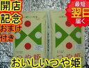 【28年産 新米】山形県産 地域厳選 つや姫☆10kg(5kg袋×2)特別栽培米、減農薬米送料無料※北海道は別途送料\500沖縄一部離島は\1000が掛かります