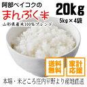 米20kg 送料無料 家計応援まんぷく米 5kg×4袋 安い お米 20キロ コメ 白米