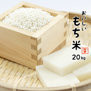 もち米 20kg (5kg×4袋) 送料無料 新米 令和元年産 国内産 餅米 山形県産 【別途送料加算地域あり】