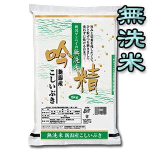 【令和2年産】【送料無料(一部地域を除く)】【無洗米】新潟産こしいぶき 5kg×2袋 〔2年産〕 新潟から産地直送でお届けします♪おまけ付!