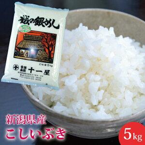 送料無料! 新潟県産こしいぶき 5kg