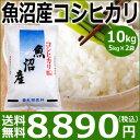 【米】魚沼産コシヒカリ10kg(5kg×2袋)【送料無料】【28年産】新潟から産地直送・食味ランキング特A