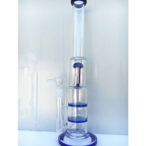Sunny-Glass 42cm ガラスボング (水パイプ)/Glass Bongs/Glass Water Pipes