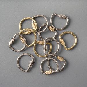 CANDY DESIGN&WORKS[キャンディデザイン&ワークス]LYMAN Screw Lock Key Ring[スクリューロックキーリング キーホルダー 3個セット ネジ型留め具]☆