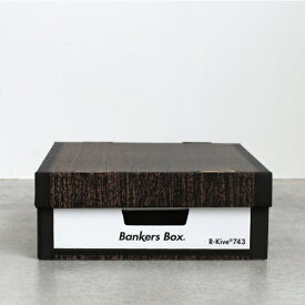 Fellowes[フェローズ]BANKERS BOX 743 Woodgrain 6pack