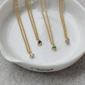 Laboratorium[ラボラトリウム]cross setting necklace