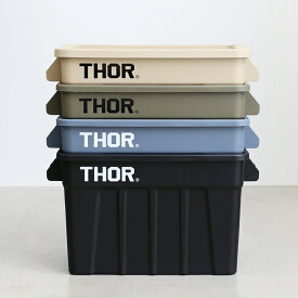 THOR[ソー]Large Totes With Lid 75L