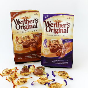 Werther's Original[ヴェルタースオリジナル]キャラメルチョコレート(マーブルミルク・キャラメル)