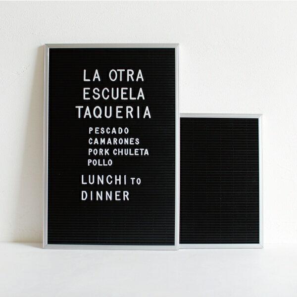 DETAIL[ディテール]Letter Board Aluminium(M)