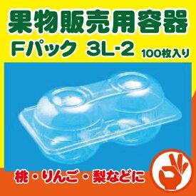 フルーツパック 3L-2 APET(3Lサイズ2個用)