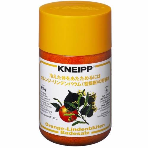 クナイプ(KNEIPP) バスソルトオレンジ・リンデバウムの香り <850g>【クナイプ KNEIPP バスソルト 入浴剤】