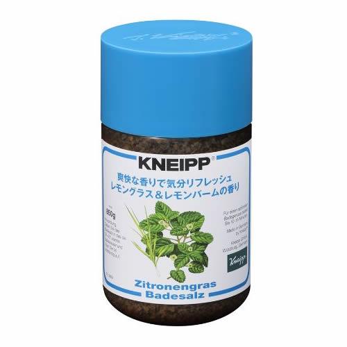 クナイプ(KNEIPP) バスソルトレモングラス&レモンバームの香り <850g>【クナイプ KNEIPP バスソルト 入浴剤】