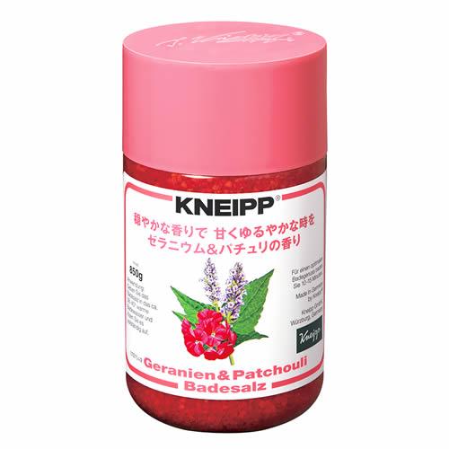クナイプ(KNEIPP) バスソルトゼラニウム&パチュリの香り <850g>【クナイプ KNEIPP バスソルト 入浴剤】