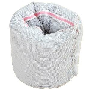【クーポン配布中】【送料無料(ネコポス)】大物洗い用 洗濯ネット 筒形【布団 毛布 シーツ 洗濯 特大 大型 寝具 大物】