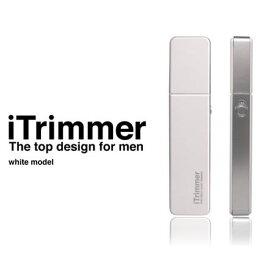【10/25限定クーポン配布中】【送料無料(定形外郵便)】ライト付ノーズトリマー<ホワイト> 「i Trimmer」アイトリマー