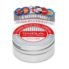 【送料無料(ネコポス)】TENGA コンドーム <6個入> 【TENGA テンガ コンドーム 男性避妊具 】中身がわからない梱包中身がわからない梱包
