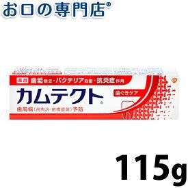 カムテクト 歯ぐきケア 薬用ハミガキ 115g 歯磨き粉/ハミガキ粉