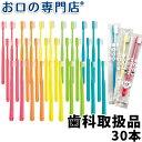 【送料込】歯科専売品 大人用子ども用 歯ブラシ 30本【日本製】(シュシュ)【日本製】【メール便送料無料】