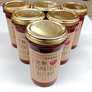 完熟サルサソース6本セット 完熟いとしろトマト果汁使用 保存料・着色料 無添加 送料無料