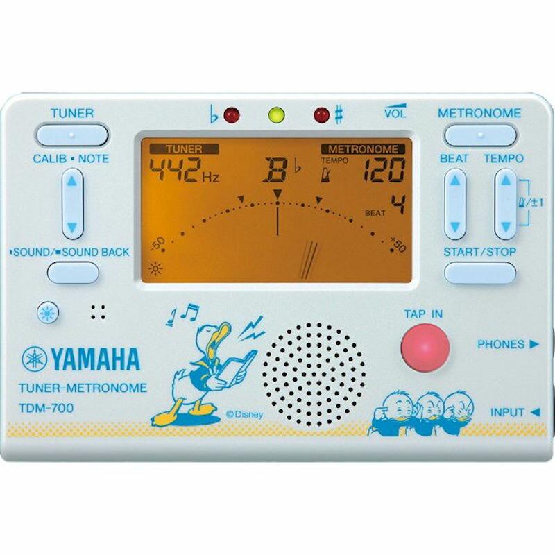 YAMAHA TDM700DD2 Disney 数量限定 ドナルド チューナー メトロノーム