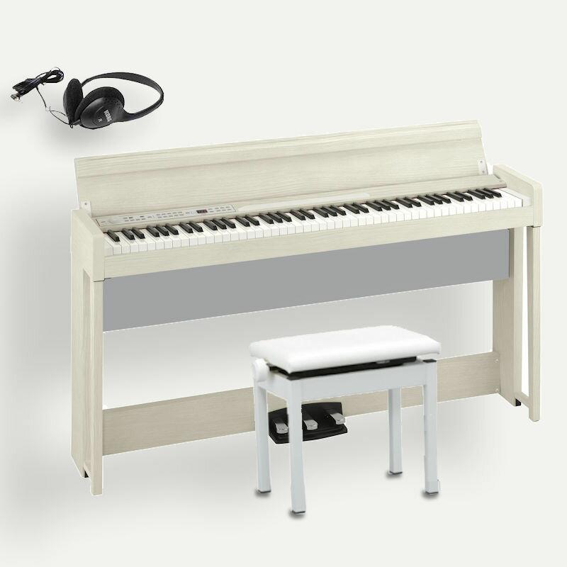 KORG C1 Air WA ホワイトアッシュ コルグ電子ピアノ 高低椅子 ヘッドホン付 只今 LITTLE BITS DROIDプレゼントキャンペーン中! 7月19日まで