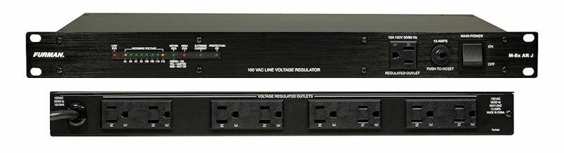 FURMAN M-8x AR J 100V安定化電源装置